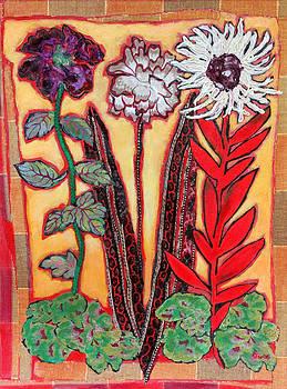 Diane Fine - Three Flowers