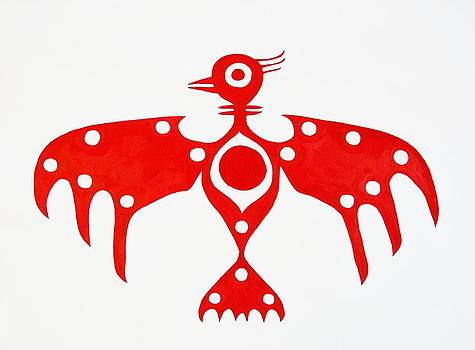 Thunderbird original painting by Sol Luckman