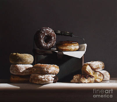 Larry Preston - TIN WITH DONUTS