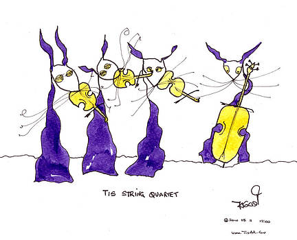 Tis String Quartet by Tis Art