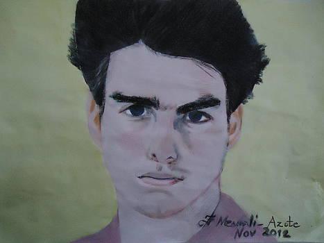 Tom Cruise by Fladelita Messerli-