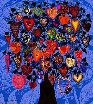 Tree Of Hearts by Jenny Sorge