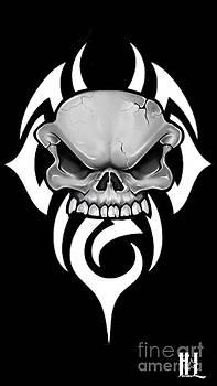 Tribal Skull by Luis Padilla