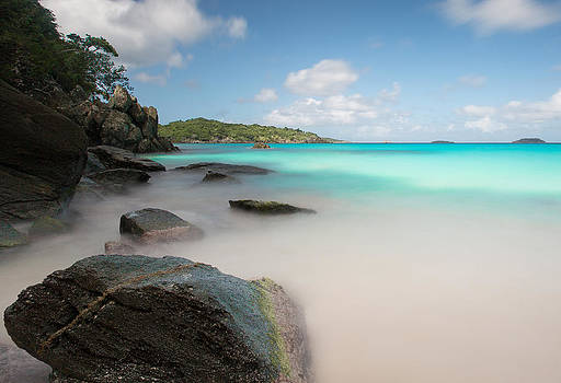 Trunk Bay At St. John US Virgin Islands by Craig Bowman