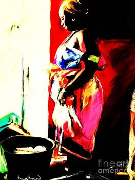 Ugunda Fish Lady by Vannetta Ferguson