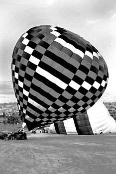 Kantilal Patel - Up she rises hot air balloon
