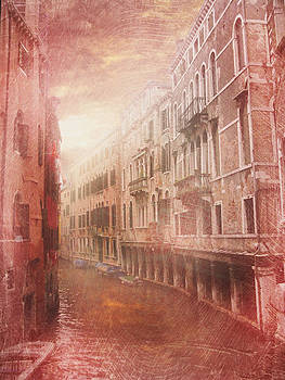 Venice canal by Toma Bonciu