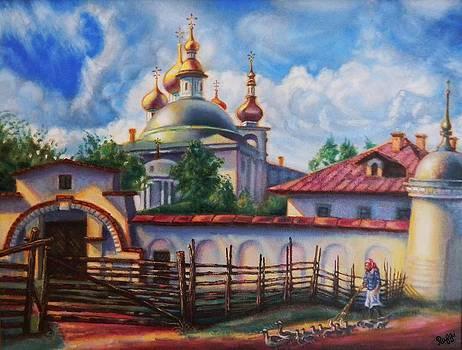 Village Life by Raffi Jacobian