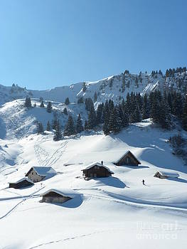 Villars Switzerland by Kate Stoupas