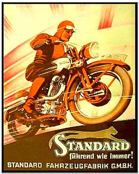 Larry Lamb - Vintage motorcycle advertising