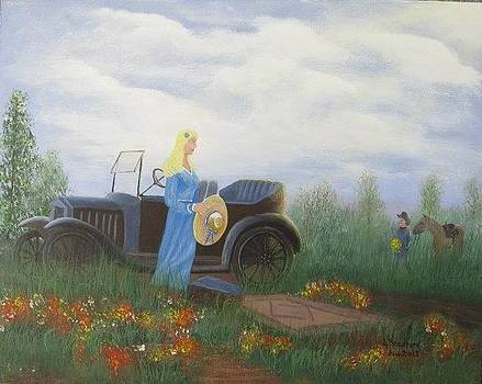 Waiting for a picnic by Lorraine Bradford