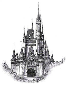 Walt Disney World Cinderella Castle by Charles Ott