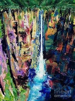 Water Falls by Frances Marino