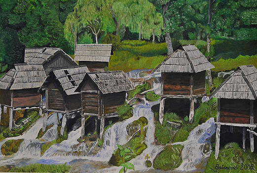 Watermill on Pliva by Ferid Jasarevic