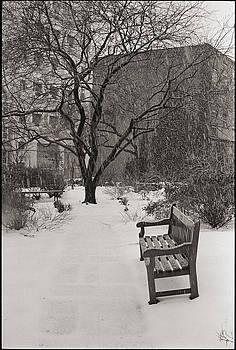 West Village Snow  by Julie VanDore
