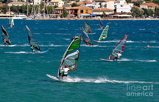 George Atsametakis - Windsurfing in Vasiliki bay