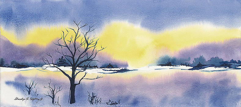 Winter Morning by Sharalyn Edgeberg