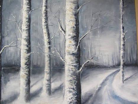 Winter wonderland by Jenny Forsman