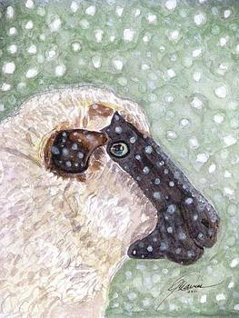 Angela Davies - Wishing Ewe A White Christmas