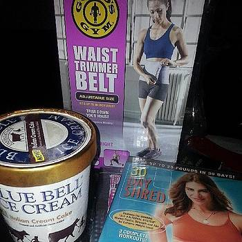 2 Workout Dvds, A Waist Trimmer, And by Justme MsB