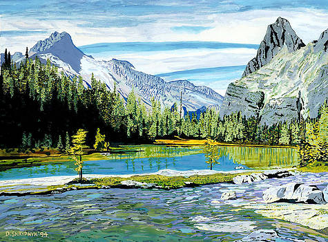 Yoho Valley by David Skrypnyk