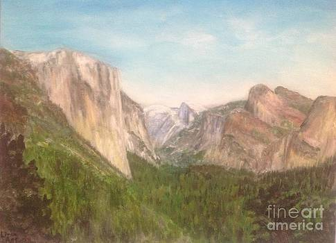Yosemite valley by Linea App