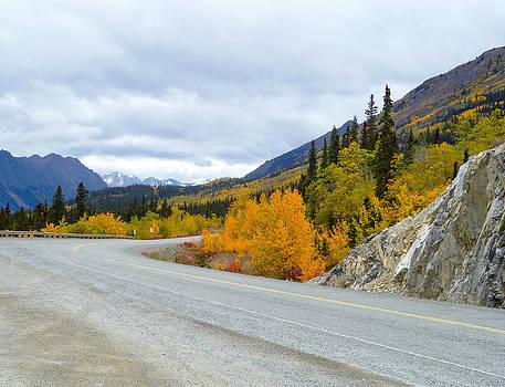 Yukon Toward Alaska by David Nichols