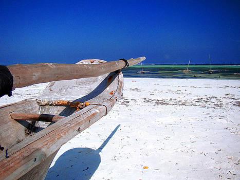 Zanzibar boat 17 by Giorgio Darrigo