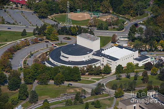 Dan Friend - aerials of WVVU campus