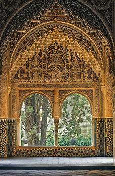 Alhambra. Spain. Granada. Alhambra by Everett