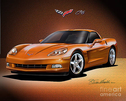 2005 2012 Chevrolet Corvette C6 Coupe by Danny Whitfield