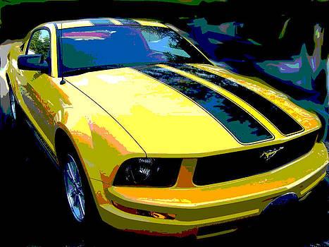 2006 Mustang by Regina McLeroy