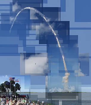 2008 Space Shuttle Launch by Stephen Farley