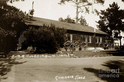 California Views Mr Pat Hathaway Archives - 2011-007-0006 Cambria Pines Lodge San Luis Obispo County Circa 1930