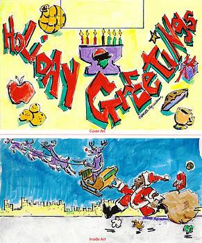 Charles M Williams - Holiday Greeting Card - 2011