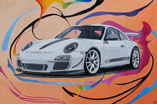 2011 Porsche 911 GT3 RS 4.0 by Jennifer Hayes