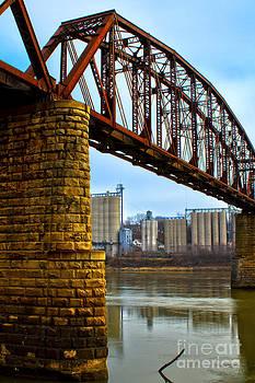 Glasgow, Mo. Elevators and Railroad Bridge. by Rick Grisolano Photography LLC