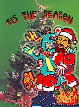 Charles M Williams - Tis The Season - Holiday Card -2013
