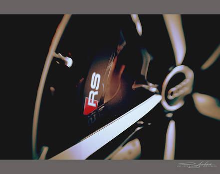 2014 Audi RS7 Brake and Wheel by Shehan Wicks
