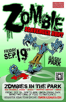 Jeff Danos and Kiko Garcia - 2014 Zombie Scavenger Hunt in Eureka Springs AR