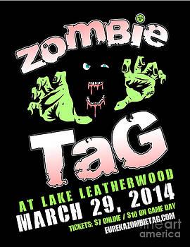 Jeff Danos and Kiko Garcia - 2014 Zombie Tag Eureka Springs Poster