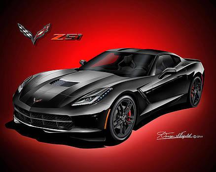 2015 Chevrolet Corvette Z51 by Danny Whitfield