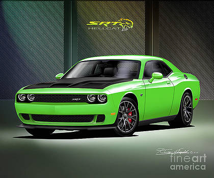 2015 Dodge Challenger Hell Cat by Danny Whitfield