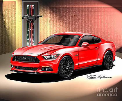 2015 Ford Mustang Premium Fastback  by Danny Whitfield