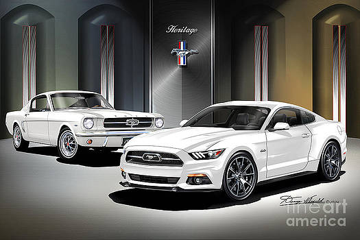 2015 Mustang American Heritage by Danny Whitfield
