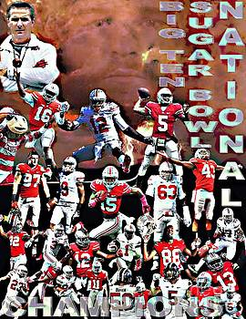 2015 Ohio State National Champions by Gerard  Schneider Jr