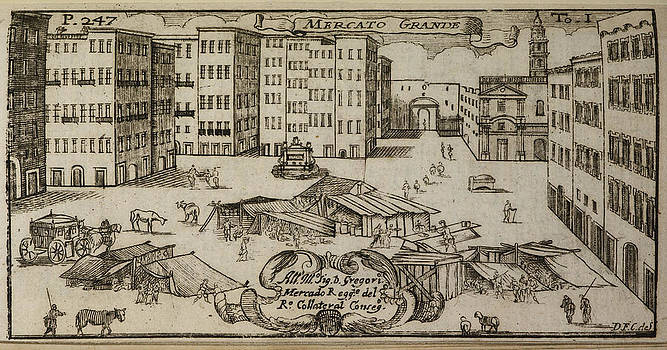 An Illustration Of 18th Century Naples by British Library