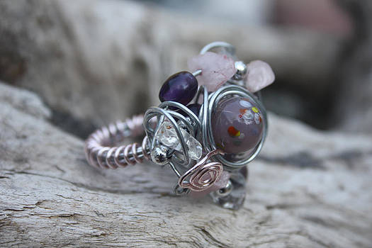 21 Free Style Ring by Kathy Peltomaa Lewis