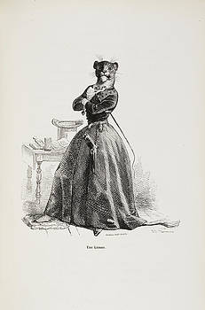 French Caricature by British Library
