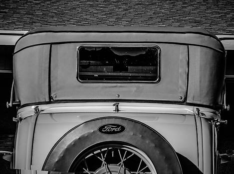 Steve Knievel - Ford Model A in Black and White
